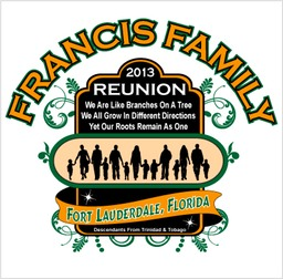 new family reunion designs francis screen printing kurt francis